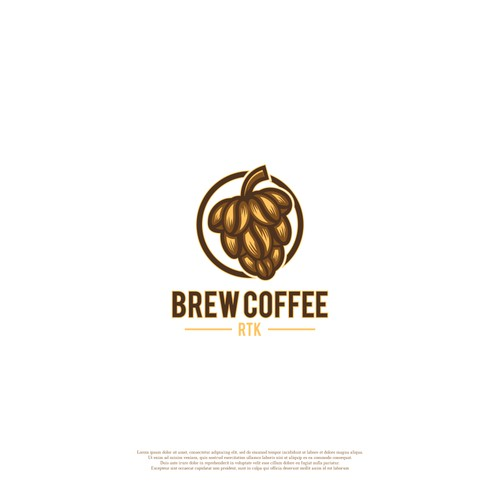 LOGO CONCEPT FOR BREW COFFEE