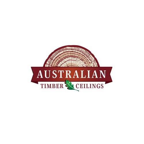 Logo concept for Australian Timber Ceilings