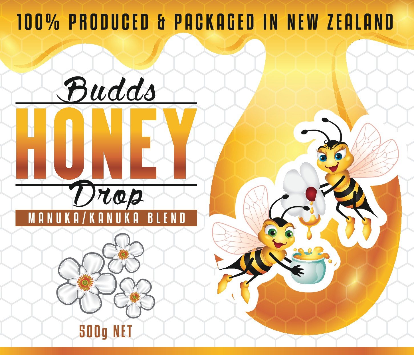 Create a Honey Label using your artistic skills to catch the consumers eye