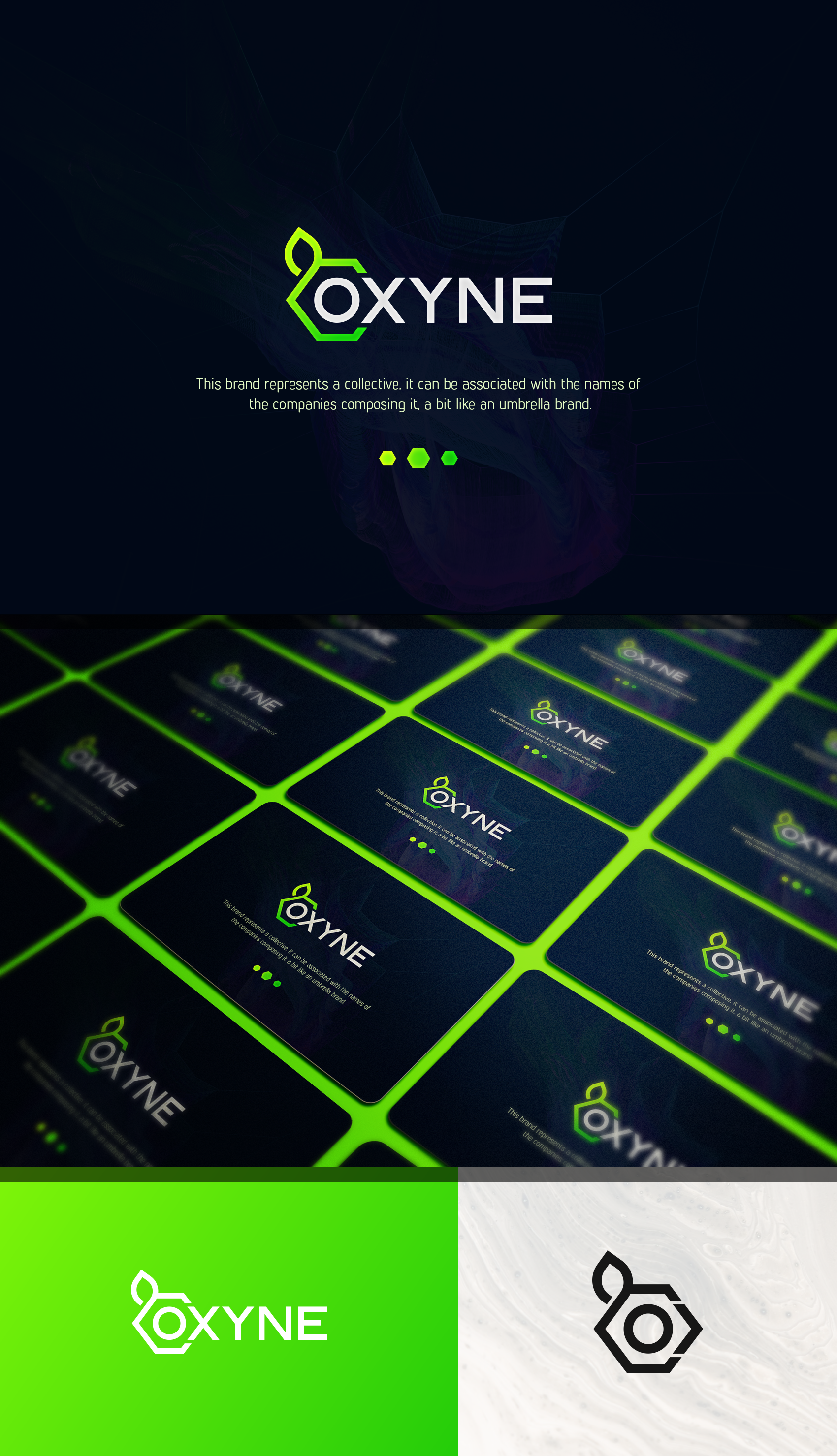 OXYNE is born ! Searching its universe !  Logo & Website
