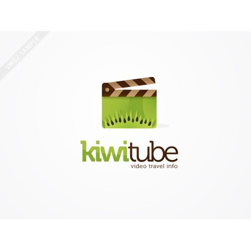 Logo concept for KiwiTube