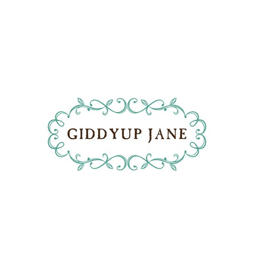 Rustic vintage logo for a boutique