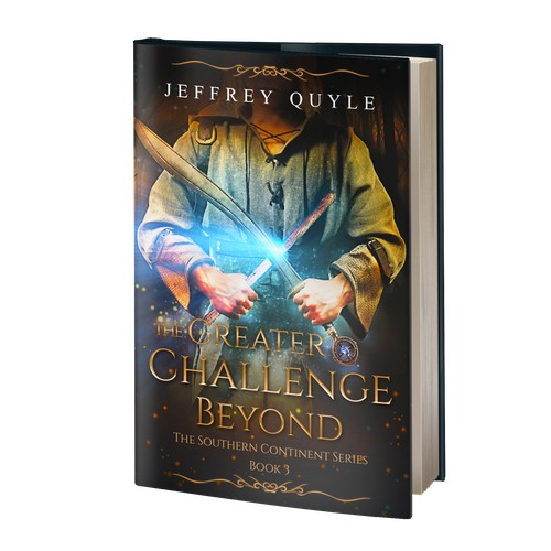 Book cover - The Greater Challenge Beyond