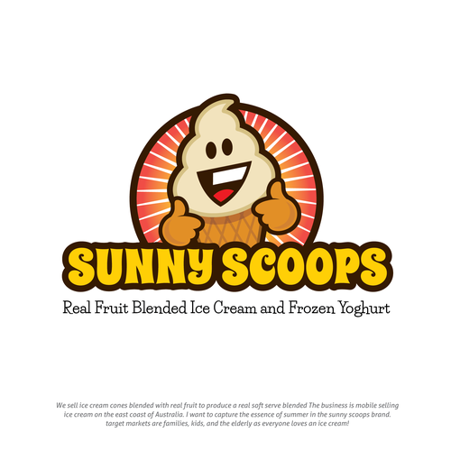 Sunny Scoops Icecream