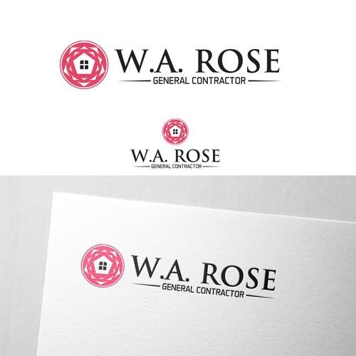 W.A ROSE LOGO DESIGN