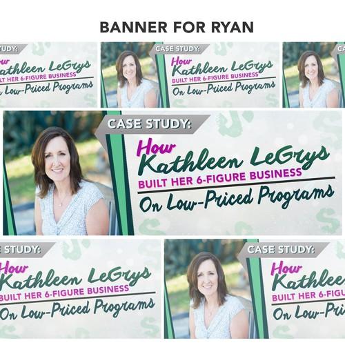 Case study: How Kathleen Degrys banner