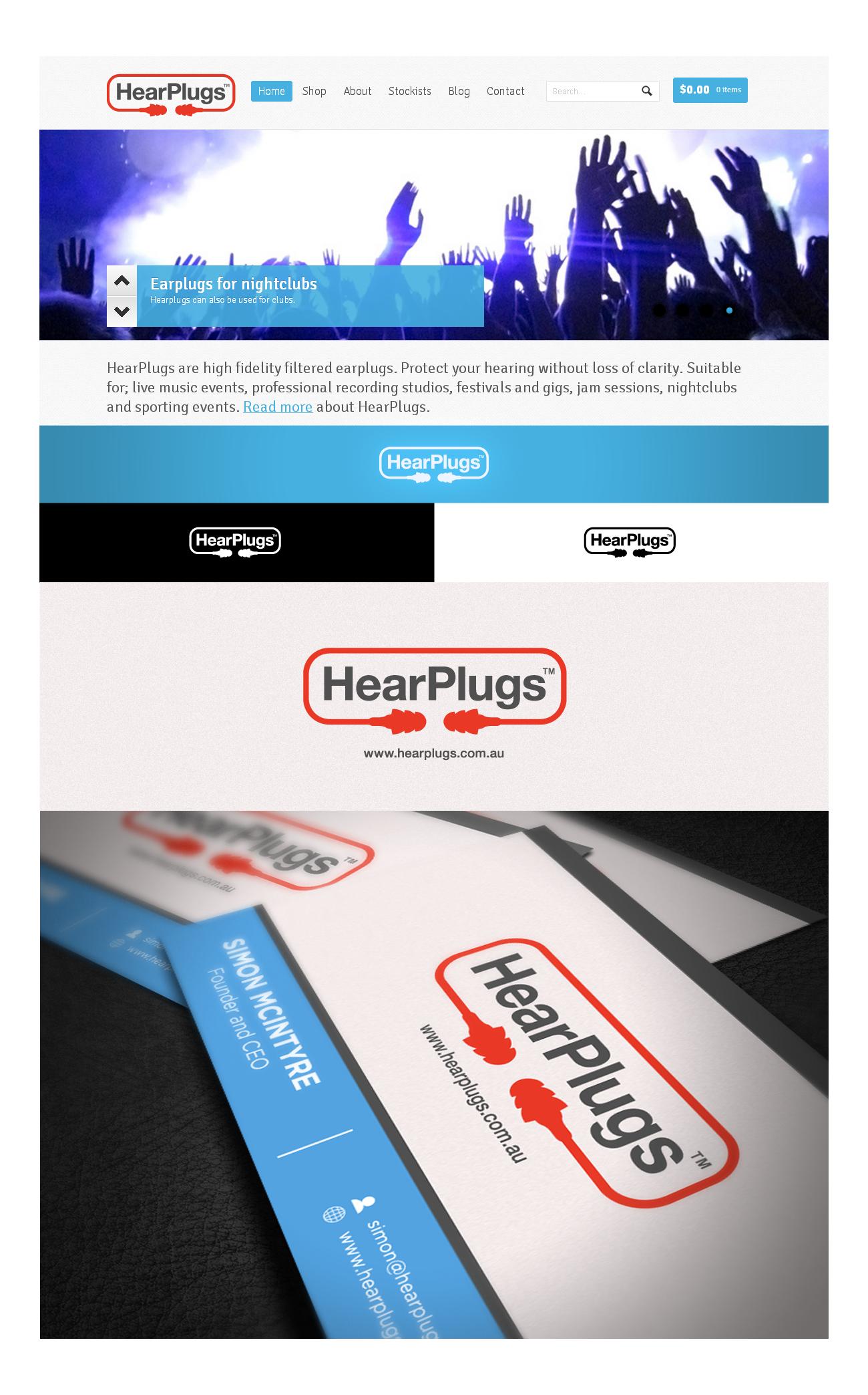 Create the next logo for HearPlugs