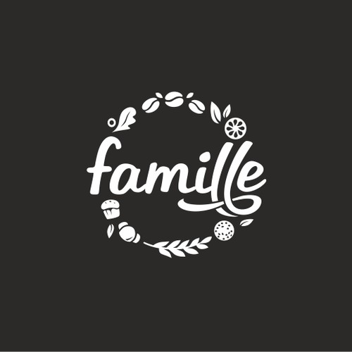 Logo for casual eatery/café that aims to gather the community through food, art & events