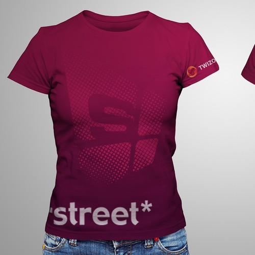 T shirt for staff