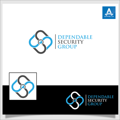 Clever logo for security company