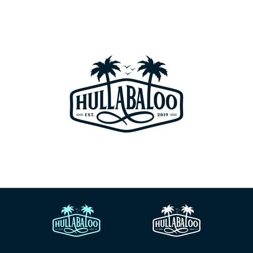 logo concept for HULLABALOO
