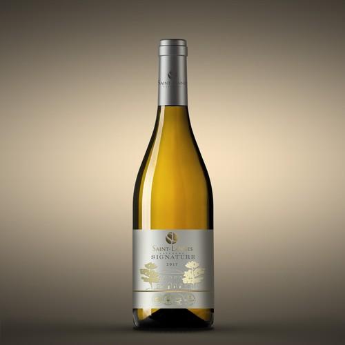 Signature Wine label
