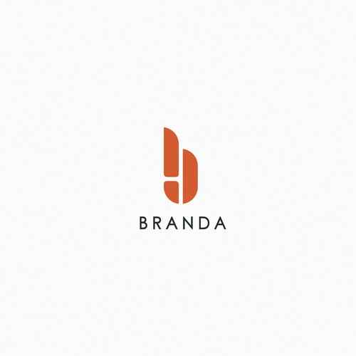 Modern style logo & icon for BRANDA