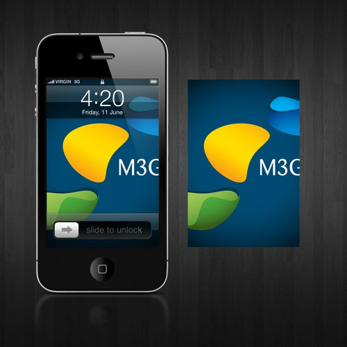 Logo concept and lock screen for M3G
