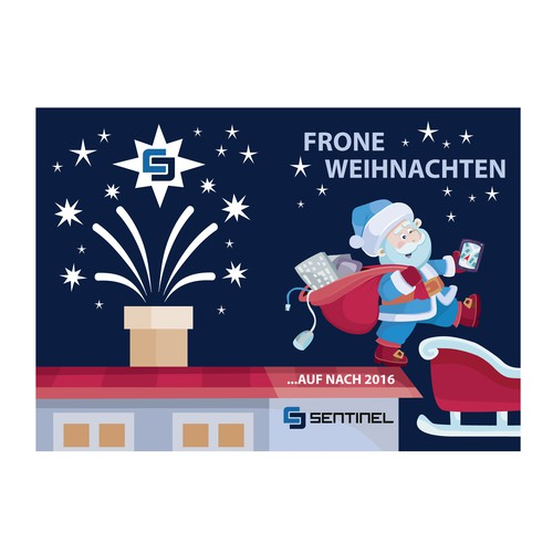 SENTINEL-IT Christmas-Card