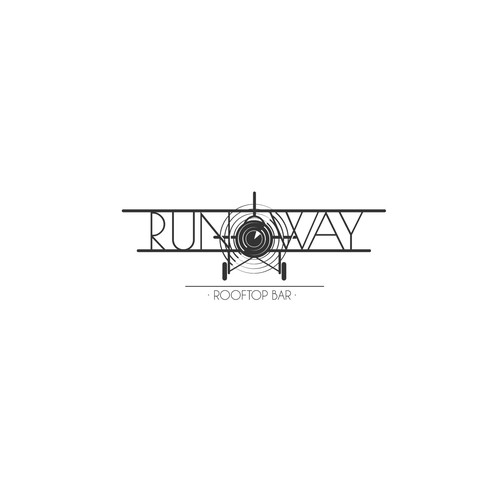 "Logo for ""RunWay"" Bar."