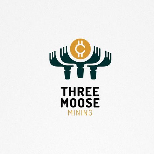 3 Moose Minig Logo