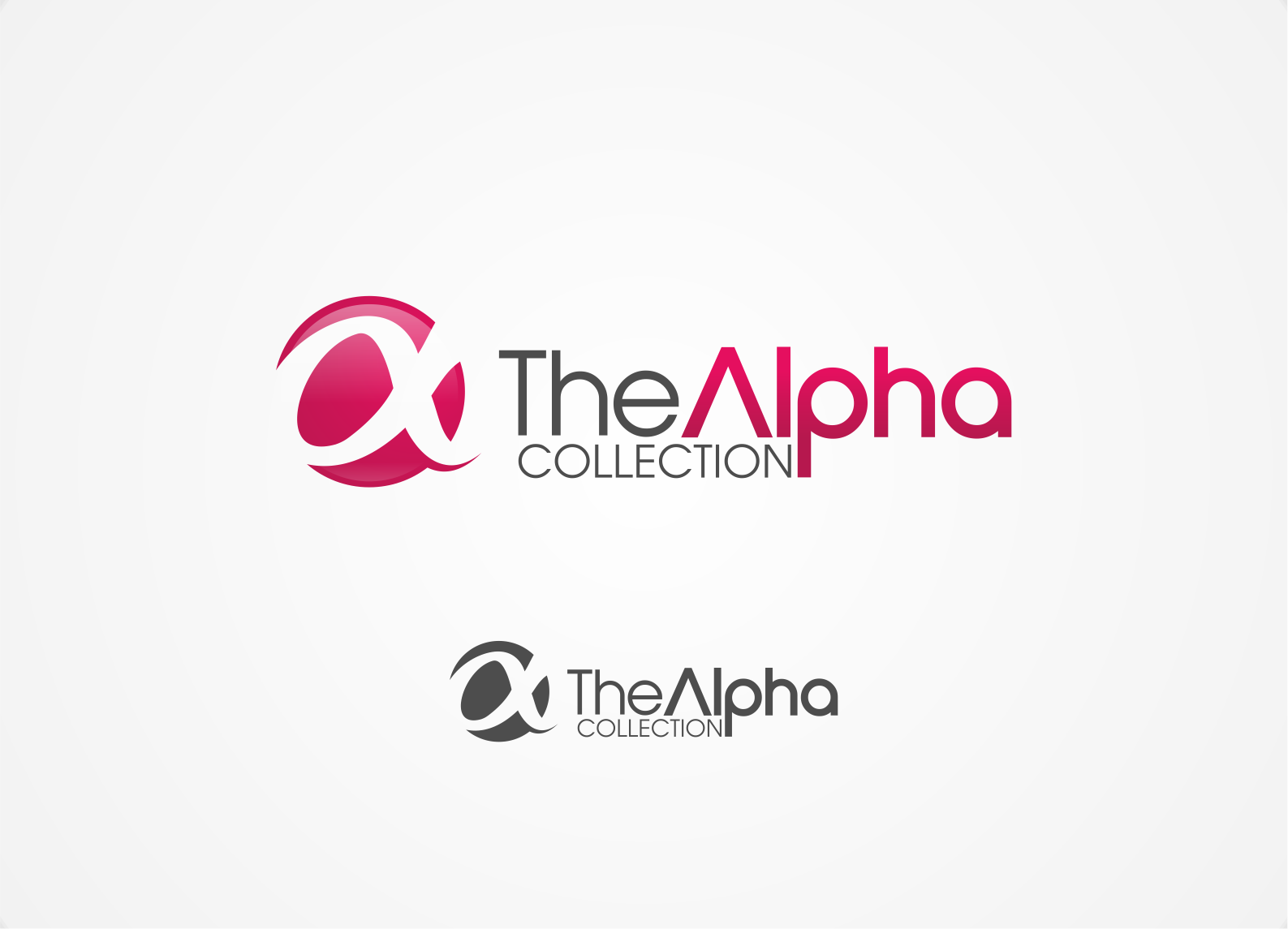 logo for The Alpha Collection