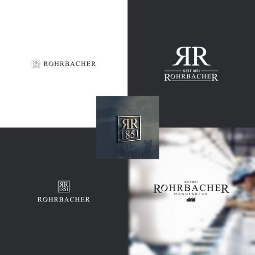 RohrbacheR logo design