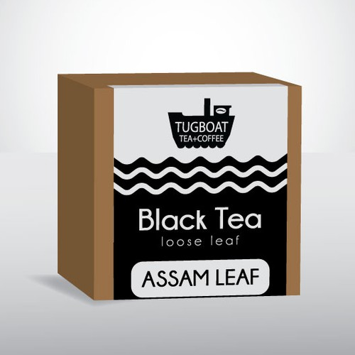Label design for tea