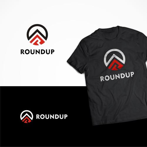 bold logo roundup logo