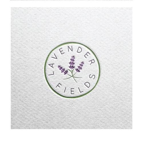 Fragile & organic logo for a flower shop