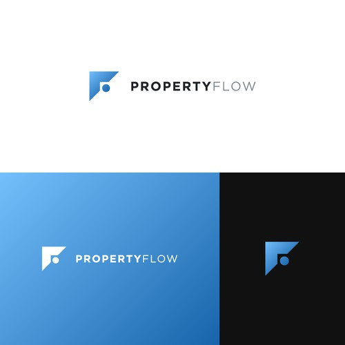 Logo for fast growing real estate tech startup