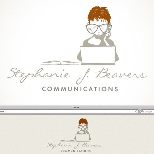Create a professional logo that expresses a writing/editing/communications specialist