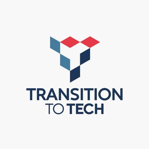 Three transiting IT tech symbols