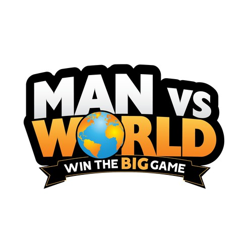 Bold, Action-Oriented Men's Challenge Logo (Text Only)