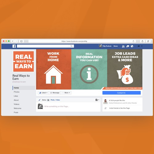 Real Ways to Earn Facebook Cover