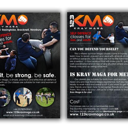 123Krav Maga needs a new postcard, flyer or print