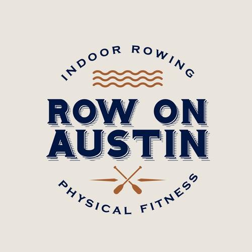 Vintage Rowing Logo
