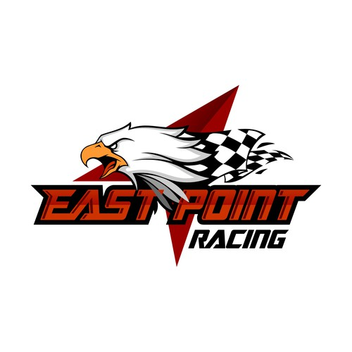 Dinamic Eagle Design for Racing Team Logo  (Not a Copy)