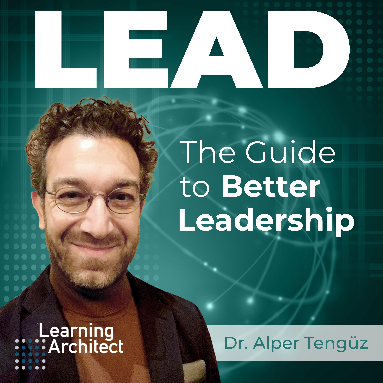 Innovative Podcast on Leadership needs a creative cover