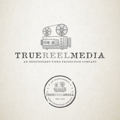 Rustic Logo for Video Production Company