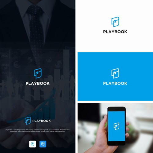 Bold logo for Playbook