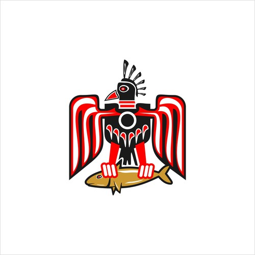 Ethnic design Aborigin thunderbird