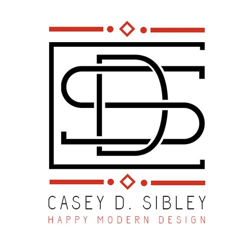 Creating a logo for Casey D. Sibley Art + Design
