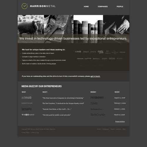 GUARANTEED - Site Design for Seed-Stage Venture Capital Fund