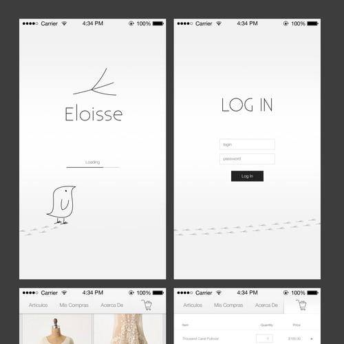 Eloisse: Minimalism and Glamour APP
