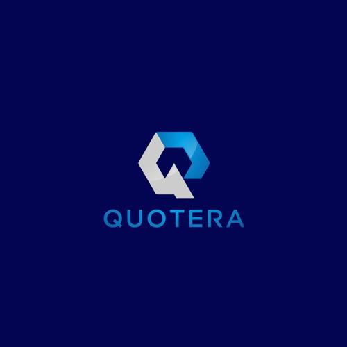 Bold logo concept for quetera