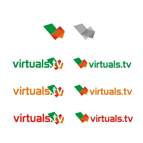 TV Logo Design Concept
