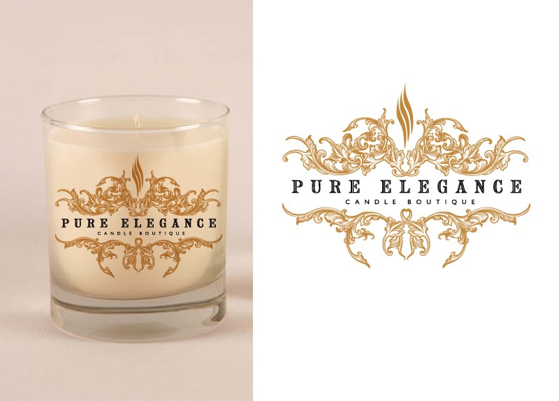 Create the next logo for Pure Elegance Candle Boutique