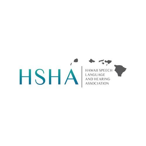 Classic logo for Hawaii Speech Language and Hearing Association