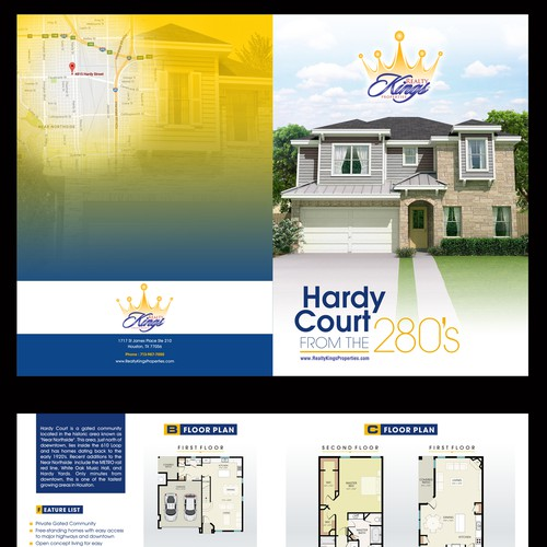New Home Community Brochure Design