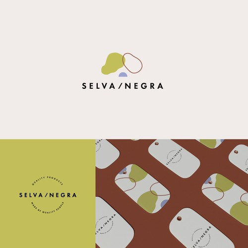 Colorful, modern and minimalistic logo concept for Selva Negra