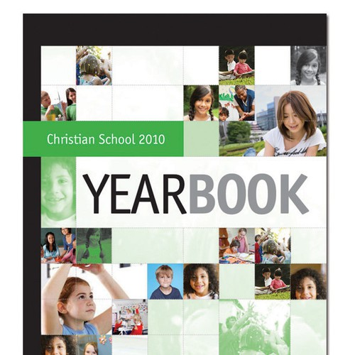 Cover design for 2010 yearbook (Front + back)