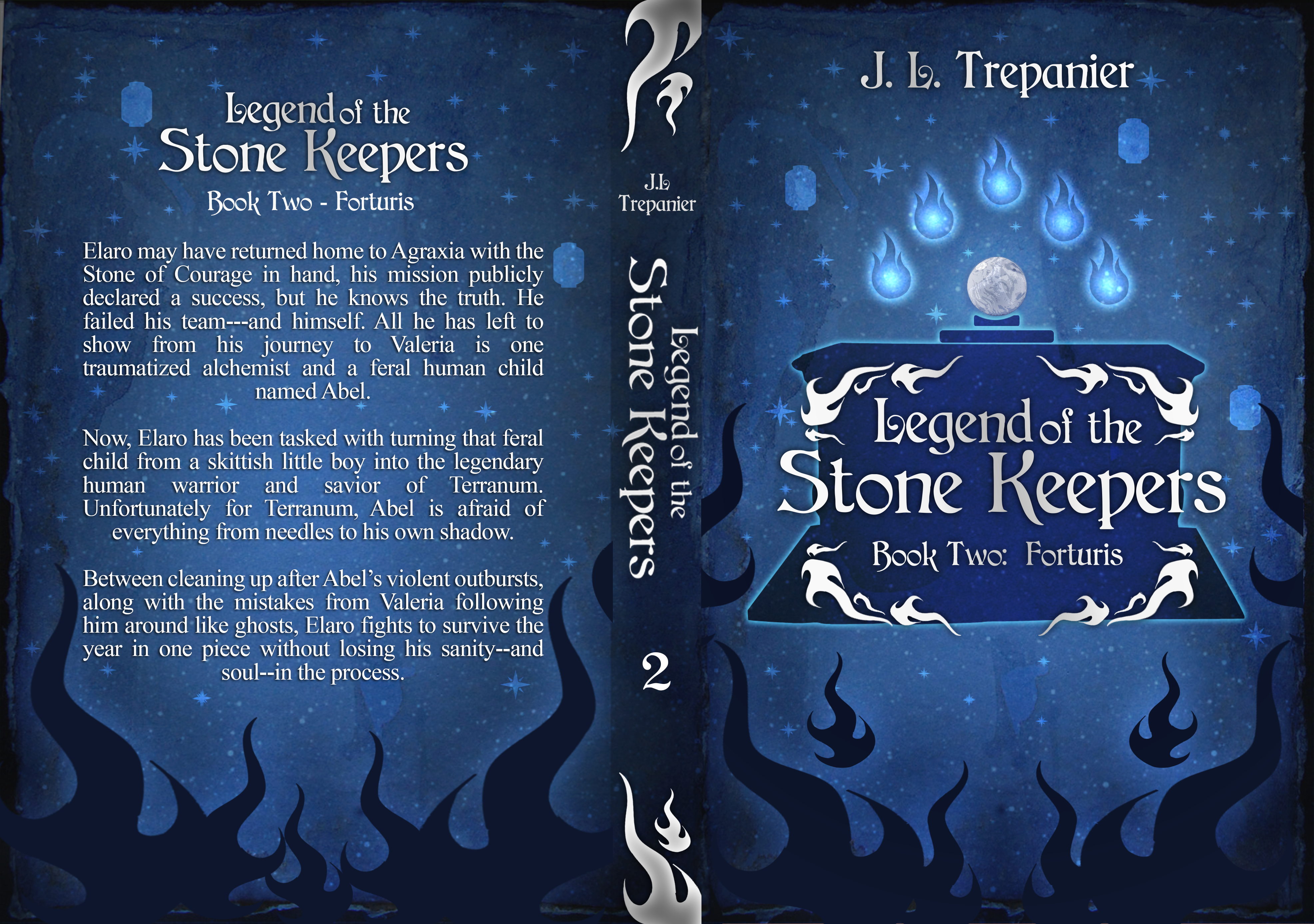 Legend of the Stone Keepers Book Two Cover