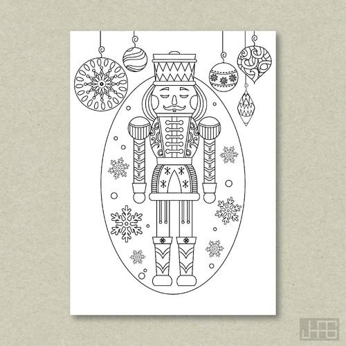 Nutcracker Themed Greeting Cards